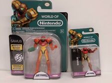 NEW World of Nintendo SAMUS ARAN Metroid Prime Jakks Pacific Series 1-2 & 2-2
