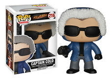 Funko Pop TV The Flash: Captain Cold Vinyl Action Figure Collectible Toy, 3.75""