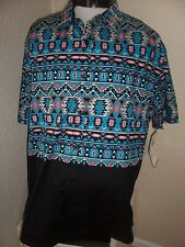 ENYCE 3XL(FITS LIKE 2XL) Button-up shirt NWT NEW Combined shipping use Ebay cart