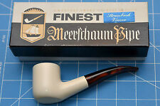 PARIS model HandMade premium MEERSCHAUM pipe by STRAMBACH of Austria (bauer) NEW