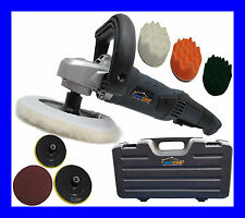 CAR POLISHER POLISHING VALETING WAX WAXING WAVY BUFFER SANDER PRO WITH 7 HEADS