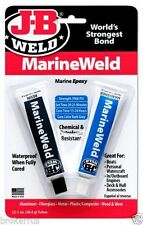 JB Weld #8272 Marine Weld Epoxy Cures Strong as Steel, Water & Weather Proof New