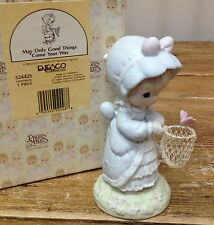 Precious Moments Figurine Butterfly May Only Good Things Come Your Way 524425