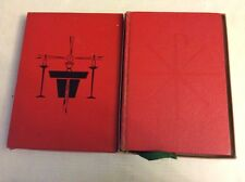 1964 Roman Missal . Benziget  Brothers. Latin English Edition, Leather. W Box.