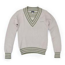 ARMANI Jeans Damen Pullover S 36 beige Pulli Woman Sweat Jumper Oberteil Knit