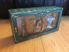 Disney Store Art of Jasmine Christmas Ornament Set Limited Edition Aladdin Genie