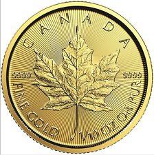 1/10 Oz Maple Leaf Gold 2017 zentel Unze Gold Royal Canadian Mint 9999