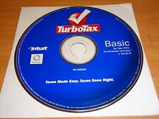 LOOK *Retail* 2004 TURBOTAX BASIC COMPLETE FEDERAL CD TURBO TAX