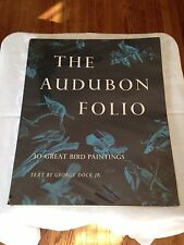 The Audubon Folio, Includes All 30 Prints And Text, 1st Ed.1964 Rare Bird Book