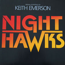 "12"" Vinyl Soundtrack Keith Emerson & Paulette McWilliams Nighthawks MCA"