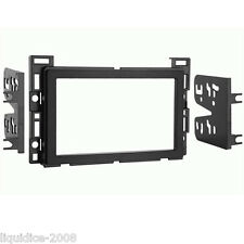 CT24CV03 CHEVROLET EQUINOX 2005 to 2006 BLACK DOUBLE DIN FASCIA ADAPTER PANEL