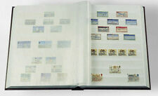 Stamp Collecting Album Lighthouse Stock book 6.5 x 9 - 16 White Pages Free Post