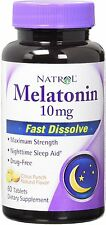 Melatonin Fast Dissolve, Natrol, 60 tablet 10 mg