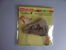 HOUSE MOUSE RUBBER STAMPS CLING HAPPY HOPPERS BOTTLE BUNNY STAMP