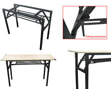 Heavy Duty Folding Table Rack For Commercial/Home/Hotel/School Training Desk