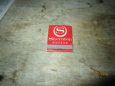 Vintage match book, Sheraton Hotels with list of locations inside, unstruck