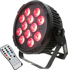 Ibiza light dmx-controlled led par can 12X 12W rgbwa uv 1 en 6 -
