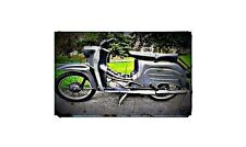 1976 simson schwalbe Bike Motorcycle A4 Photo Poster