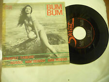 "NINI ROSSO"" BUM BUM-disco 45 giri SPRINT It 1963"" SEXY COVER"