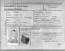Photo.  1944.  WW2.  Prisoner Of War (POW) Identification Card - Stalag Xll