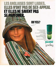 PUBLICITE  1976     YARDLEY    eau de toilette SEA SPRAY