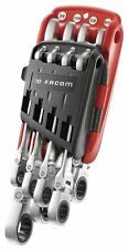 FACOM WINTER SALE! FLEXIBLE HEAD RATCHETING IMPERIAL AF WRENCH SPANNER SET