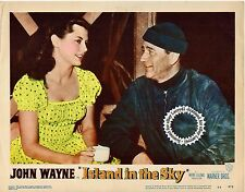 John WAYNE Lobby Card ISLAND IN THE SKY (1953) #3 Near MINT, P Winger, W Wellman