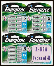 12 Energizer AA  2300mAh Power PLUS Rechargeable Batteries - Pre-Charged