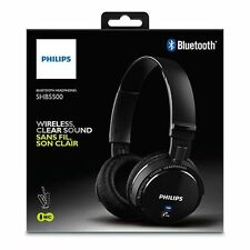 Philips SHB5500BK Bluetooth Headphone Black