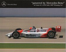 Al Unser Jr 1994 Indy 500 Winning Car Brochure - Marlboro Penske Mercedes