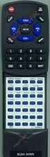 Replacement Remote for SHERWOOD RC101, RX4105