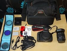 Canon EOS 700D Digital SLR Camera 18MP FULL HD + EF-S 18-55mm IS II + EXTRAS