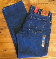 NWT Mens 559 LEVIS Relaxed Straight Fit Zipper Fly Jeans Size 33W 34L $58