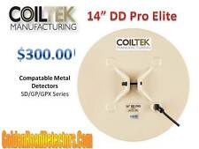 "CoilTek 14"" DD Pro Elite Coil For Minelab SD/GP/GPX"