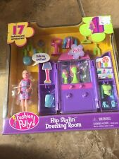 Fashion Polly Pocket Hip Stylin' Dressing Room Lea Doll Accessories Playset New