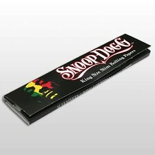 1x KINGSIZE SNOOP DOGG ROLLING PAPERS CIGARETTE SMOKING RAW