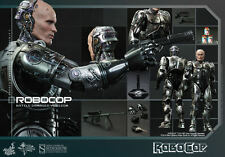 HOT TOYS ROBOCOP BATTLE DAMAGED VERSION 1:6 FIGURE ~Sealed in Brown Box~