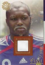 2007 Futera World Football 'Futera Clear' Relic - Djibril Cisse - #'d 194/250