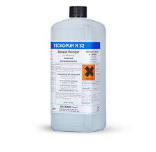 Tickopur R 32  Spezialreiniger für Ultraschall 1,0 Ltr. Reinigungskonzentrat