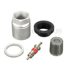 TPMS Tire Pressure Sensor Repair Washer Nut Valve Cap Service Kit For Toyota