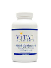 Vital Nutrients Multi-Nutrients 4 Citrate/Malate 180 caps