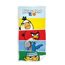 ANGRY BIRDS RIO Bath/Beach Towel 140cm x70cm 100% COTTON 01