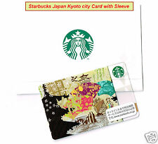 Starbucks Japan 2012 Kyoto City Gift Card Limited Edition Collectible from Japan