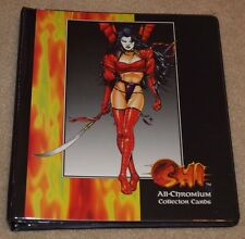 Shi All-Chromium Trading Cards + Collector's Binder + Promo - 1995 Comic Images