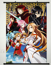 Home Anime Wall poster Scroll  Sword Art Online 2 Phantom Bullet Whole Role