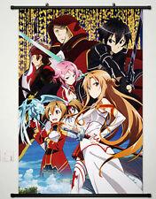 Home Anime Wall poster Scroll  Sword Art Online 2 Phantom Bullet Whole Role 154