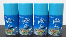 4 Glade Be Edgy Coconut Water & Freesia Automatic Spray Refills Spring Edition