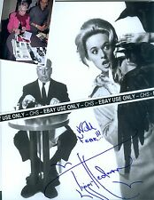 """TIPPI HEDREN SIGNED B&W 8x10 PHOTO """"THE BIRDS"""" """"MARNIE"""" ALFRED HITCHCOCK #4"""