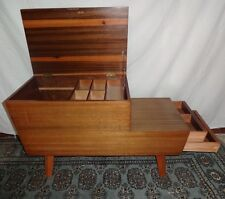 VINTAGE RETRO VANSON MID CENTURY COFFEE/STORAGE/SEWING/BOX TABLE 1960S.