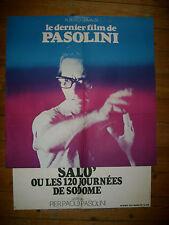 Affiche cinema SALO' ou les 120 journées de sodome 76 / dernier film de Pasolini
